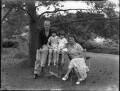 The King-Hall family, by Bassano Ltd - NPG x34673