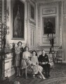 Queen Elizabeth II; Princess Margaret; King George VI; Queen Elizabeth, the Queen Mother, by Cecil Beaton - NPG x22565