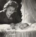 Queen Elizabeth II; Prince Charles, by Cecil Beaton - NPG x29597