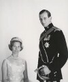 Katharine Lucy Mary Worsley, Duchess of Kent; Prince Edward George Nicholas Paul Patrick, Duke of Kent, by Cecil Beaton - NPG x35195