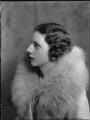 Mary Gwendoline (née Foster), Lady Forwood, by Bassano Ltd - NPG x34429