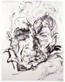 John Berger, by Maggi Hambling - NPG 6646