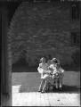 Rosamund Agnes Hay Christie; Audrey Mildmay; Sir George William Langham Christie, by Bassano Ltd - NPG x37208