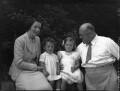 The Christie family, by Bassano Ltd - NPG x37210