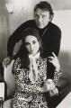 Richard Burton; Dame Elizabeth Taylor, by Terry O'Neill - NPG x126133