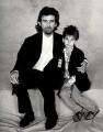 George Harrison; Dhani Harrison, by Terry O'Neill - NPG x126134