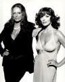 Jackie Collins; Joan Collins, by Terry O'Neill - NPG x126136