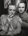 Michael Caine; Bob Hoskins, by Terry O'Neill - NPG x126162
