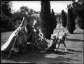 The Mackintosh children with friends, by Bassano Ltd - NPG x37171