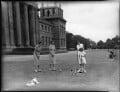 Lady Caroline Waterhouse; Lady Sarah Roubanis; Alexandra Cadogan, Duchess of Marlborough; Lady Rosemary Muir, by Bassano Ltd - NPG x81369