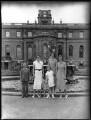 John Spencer-Churchill, 11th Duke of Marlborough; Alexandra Cadogan, Duchess of Marlborough; Lady Rosemary Muir; Lady Caroline Waterhouse; Lady Sarah Roubanis, by Bassano Ltd - NPG x81370