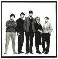 Young Comedians (Nick Hancock; Neil Mullarkey; Stephen Fry; Helen Lederer; Jeremy Hardy), by Trevor Leighton - NPG x77061