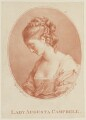 Lady Augusta Campbell, by Gabriel Scorodoomoff, published by  Robert Sayer, after  Angelica Kauffmann - NPG D15049