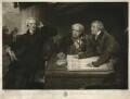 Sir Francis Baring, 1st Bt, John Baring; Charles Wall, by James Ward, after  Sir Thomas Lawrence - NPG D18119