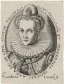 Anne of Denmark when Queen of Scotland, by Lambert Cornelis, after  Unknown artist - NPG D18123