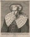 Anne of Denmark, by Pieter de Jode I - NPG D18126