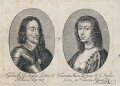 King Charles I; Henrietta Maria, by Unknown artist - NPG D18211