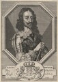 King Charles I, by François Chauveau, after  Sir Anthony van Dyck - NPG D18213