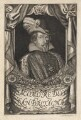 King James I of England and VI of Scotland, probably by Johann Jakob Metzger, after  A. Bloem - NPG D18189