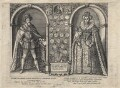 King James I of England and VI of Scotland; Henry, Prince of Wales; Anne of Denmark, after Unknown artists - NPG D18233