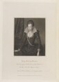 Lady Arabella Stuart, by William Holl Sr, published by  Lackington, Hughes, Harding, Mavor & Jones, published by  Longman, Hurst, Rees, Orme & Brown, after  William Hilton, after  Paul van Somer - NPG D15195