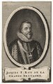 King James I of England and VI of Scotland, by Jan Lamsveld (Lamsvelt) - NPG D18269