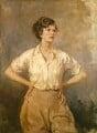 Dame Wendy Margaret Hiller, by Thomas Cantrell Dugdale - NPG 6656