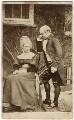 George Gilbert Scott Jr; Ellen Gilbert Scott (née King Sampson), by W.M. Clarke - NPG x126180