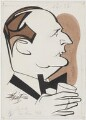 Cecil Parker (Cecil Schawbe), by Robert Stewart Sherriffs - NPG D18335