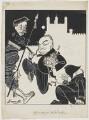 (Richard Horatio) Edgar Wallace, by Robert Stewart Sherriffs - NPG D18341
