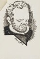Evelyn Waugh, by Robert Stewart Sherriffs - NPG D18348