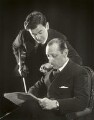 Samuel Dushkin; Igor Fyodorovich Stravinsky, by Paul Tanqueray - NPG x25925