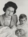Queen Elizabeth II; Prince Andrew, Duke of York; Prince Edward, by Cecil Beaton - NPG x26038