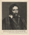 Thomas Howard, 14th Earl of Arundel, by Lucas Vorsterman, after  Sir Anthony van Dyck - NPG D18352