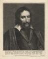 Thomas Howard, 14th Earl of Arundel, by Lucas Vorsterman, after  Sir Anthony van Dyck - NPG D18352