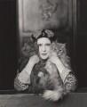 Elinor Glyn, by Paul Tanqueray - NPG x16448