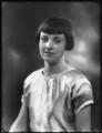 Hon. Rosemary Sylvia Esson-Scott (née Cary, later Mrs Mayhew), by Bassano Ltd - NPG x123002