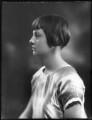 Hon. Rosemary Sylvia Esson-Scott (née Cary, later Mrs Mayhew), by Bassano Ltd - NPG x123003