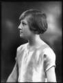 Hon. Sheila Edwards (née Cary), by Bassano Ltd - NPG x123005
