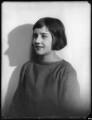Katharine Constance Nicholson (née Lindsay), by Bassano Ltd - NPG x123047