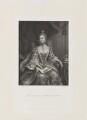 Sophia Charlotte of Mecklenburg-Strelitz, by Frederick Bromley, published by  Henry Graves, after  Sir Joshua Reynolds - NPG D15306