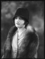 Lady Millicent Olivia Mary Tiarks (née Taylour), by Bassano Ltd - NPG x123146