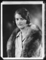 Lady Millicent Olivia Mary Tiarks (née Taylour), copy by Bassano Ltd - NPG x123147