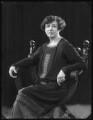 Mabel (née Wilkinson), Lady Teynham, by Bassano Ltd - NPG x123156