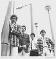 The Small Faces (Steve Marriott; Ronnie ('Plonk') Lane; Jimmy Winston (Jimmy Langwith); Kenny Jones), by David Wedgbury - NPG x47359