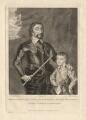 Thomas Howard, 14th Earl of Arundel; Thomas Howard, 5th Duke of Norfolk, by John Record, after  Sir Anthony van Dyck - NPG D18362