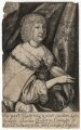 Aletheia Talbot, Countess of Arundel, by Richard Gaywood, after  Sir Anthony van Dyck - NPG D18369