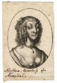 Possibly Aletheia Talbot, Countess of Arundel, by Wenceslaus Hollar - NPG D18363