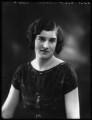 Hon. Doris Lilian Keppel (née Carter), by Bassano Ltd - NPG x123196