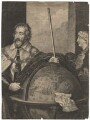 Thomas Howard, 14th Earl of Arundel, by Lucas Vorsterman, after  Sir Anthony van Dyck - NPG D18419